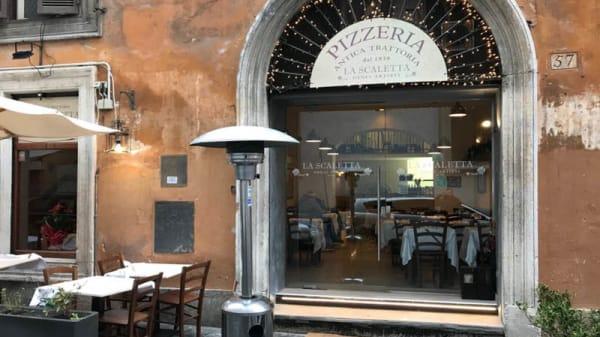 Entrata - La Scaletta degli artisti, Rome