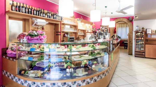 Vista bancone - Osteria Perbacco, Treviso