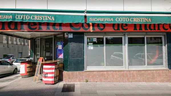 Vista entrada - Sidrería Nuevo Coto Cristina, Gijón