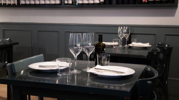 Detalle mesa - El Gallocanta, Madrid