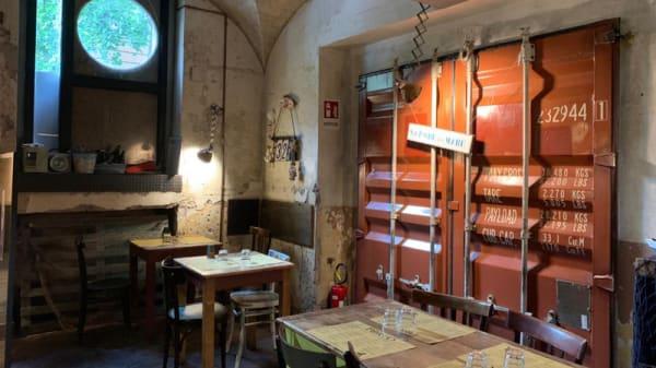 Vista sala - Porto fish & chips, Rome