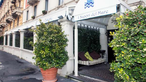entrata - Osteria I Sapori del Mare, Milan