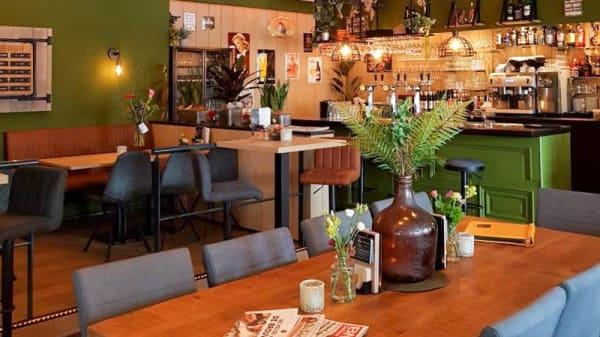 Het restaurant - De Steenhoeve, Made