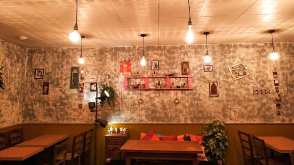 Salle du restaurant - Deb's Bistro Indien, Lyon