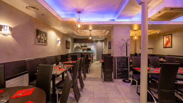 Salle du restaurant - Délice d'Italie, Paris