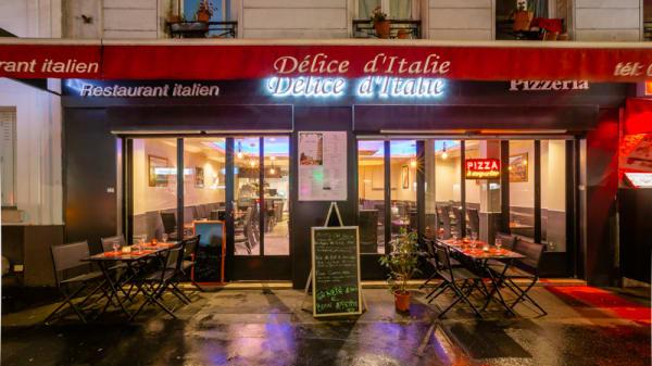 Terrasse - Délice d'Italie, Paris