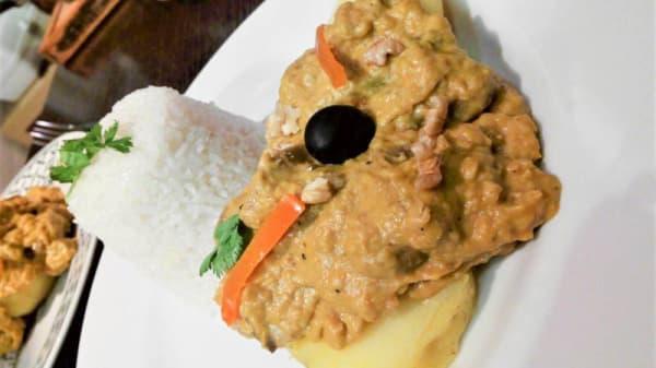 Sugerencia del chef - Los Andenes Vegan, Madrid