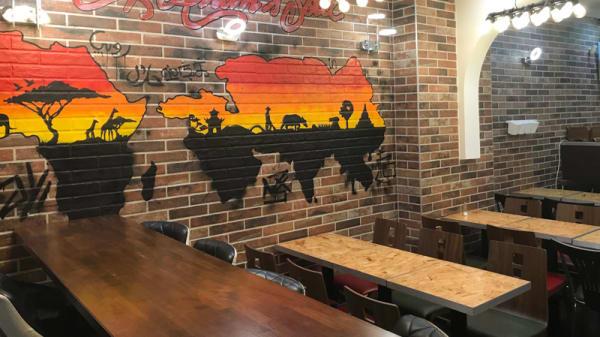 Salle du restaurant - Afrik Asian Soul, Paris