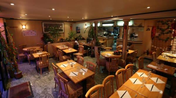 Salle du restaurant - Futake, Paris