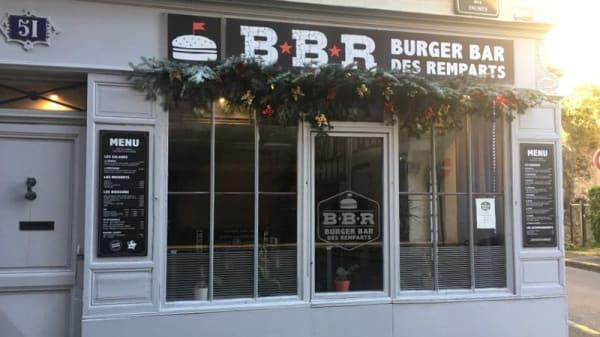 Entrée - Burger Bar des Remparts, Bayonne