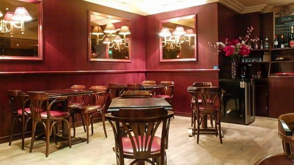 Salle du restaurant - Le Maine Café, Paris-14E-Arrondissement
