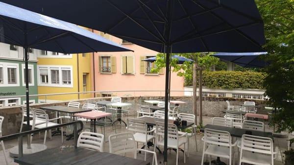 Vue de la terrasse - Café Milo, Nyon