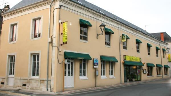 Devanture - Au Croissant, Buzançais