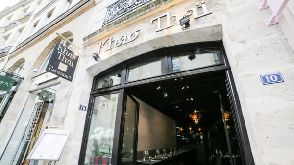 Bienvenue au restaurant Khao Thaï Sévigné - Khao Thaï Sévigné, Paris