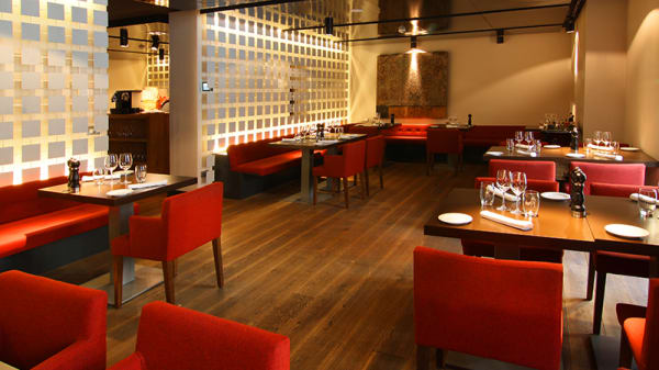 Vista sala - The Cask - Hotel Radisson Blu, Madrid