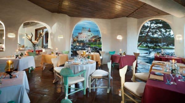 Vista sala - Cala di Volpe Restaurant, Porto Cervo