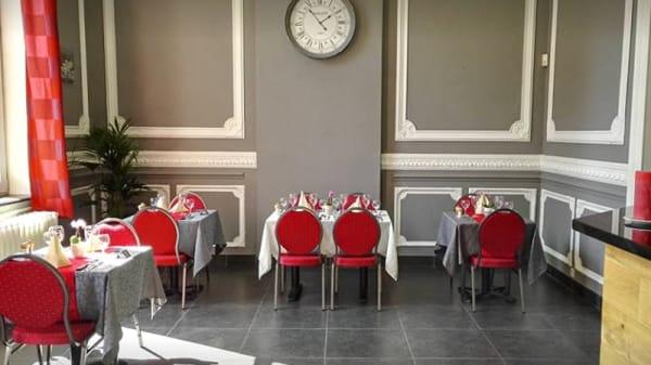 Salle du restaurant - La Cascade d'Or, Charleroi