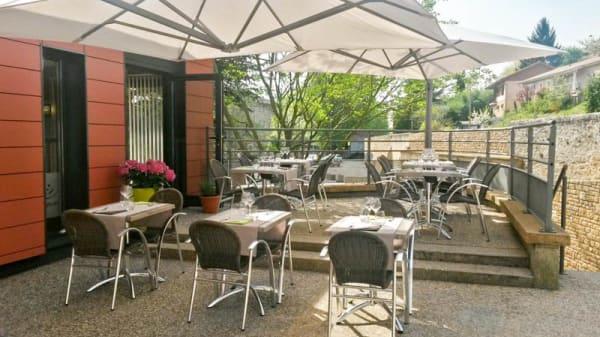 Terrasse - La Table D'Albigny