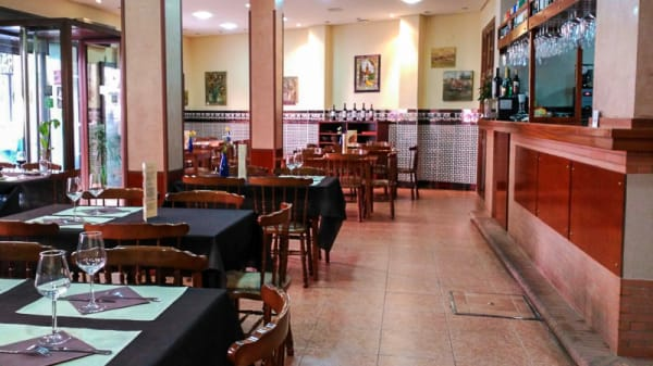 Vista sala - Galería Museo, Sevilla