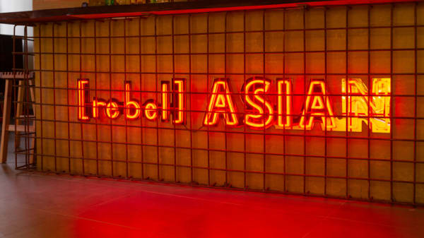 Detalhe de decoração - Rebel Asian, Lisboa
