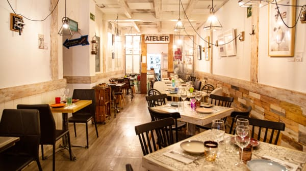 Vista Sala - La Gastro by Chema Soler, Madrid
