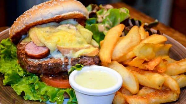 Le Jurassic Burger - Trapper´s house, Chalon-sur-Saône