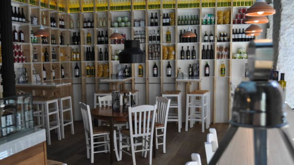 Vista sala - Dionisos Gastro Bar, Madrid