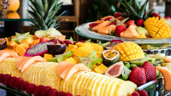 Fruits and Juices Station - Brunch du Fairmont Le Montreux Palace, Montreux