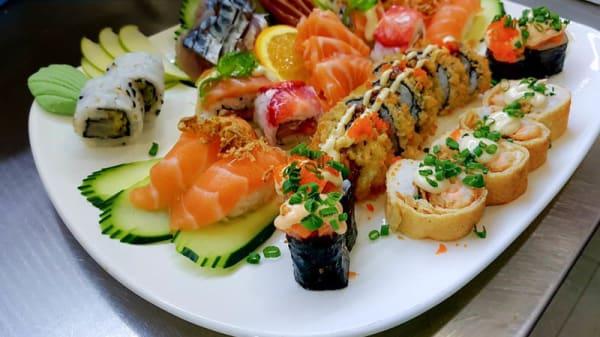 Sugestão prato - Teoria do Sabor - Sushi Creperia e Gelataria, Padrão da Légua