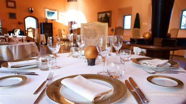 Table dressée - L'Orangerie de Sébastien, Étoile