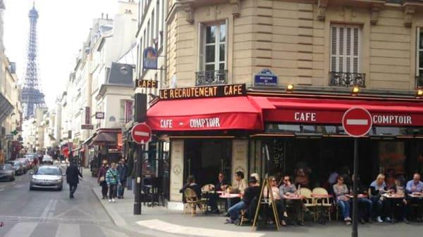 devanture - Le Recrutement Café, Paris