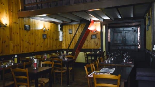 La salle du restaurant - Le Jardin Gourmand, Lyon