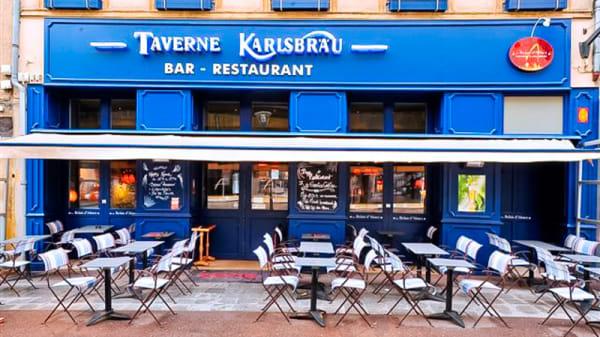 Devanture - Les Relais d'Alsace - Taverne Karlsbräu, Metz