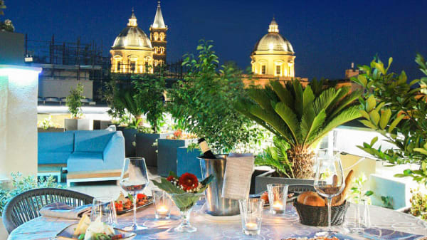 Terrazza - The Hive Rooftop Restaurant, Rome