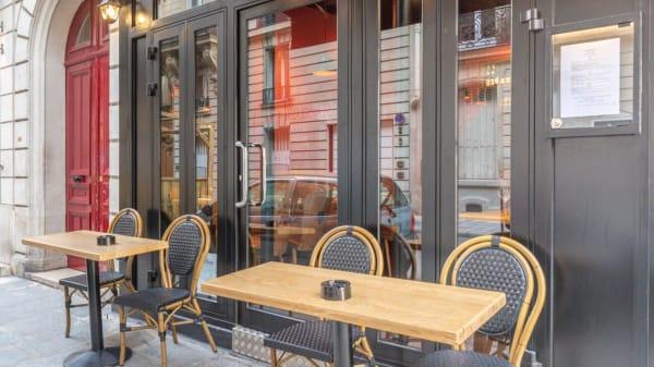 Terrasse - La Traboule, Paris