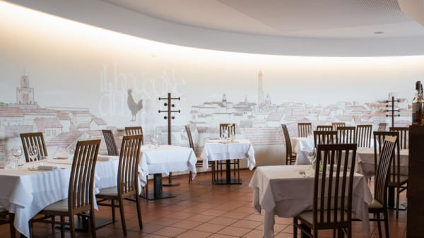 Sala del ristorante - Il Boccone del Prete, Bologna