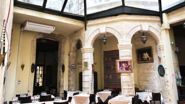 Vue de la salle - Le Riad, Avignon