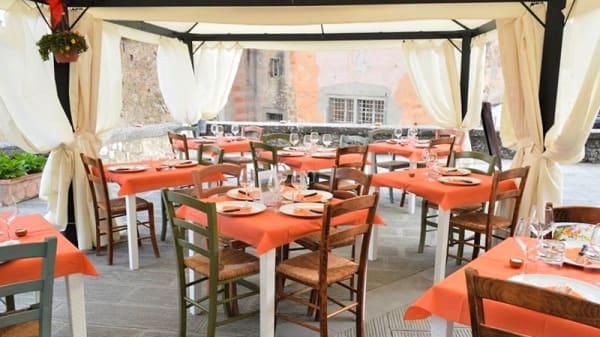 Sala - Una Terrazza in Toscana