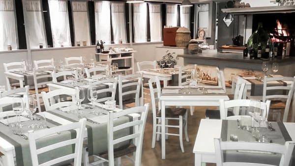 La sala - L' hostaria di Wavilu, Ciampino