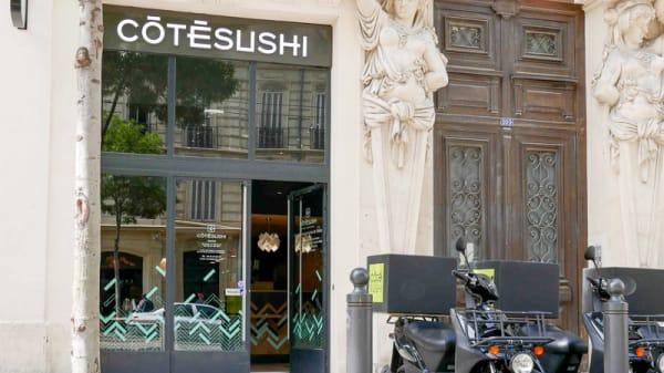 Façade du restaurant - Côté Sushi La Joliette, Marseille