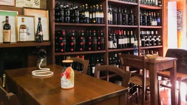 Sala del ristorante - Enoteca al Duomo, Orvieto