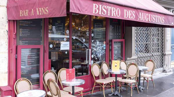 Devanture - Bistro des Augustins, Paris