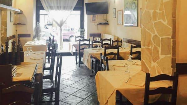 Vista sala - La Tana del Ghiottone, Milano