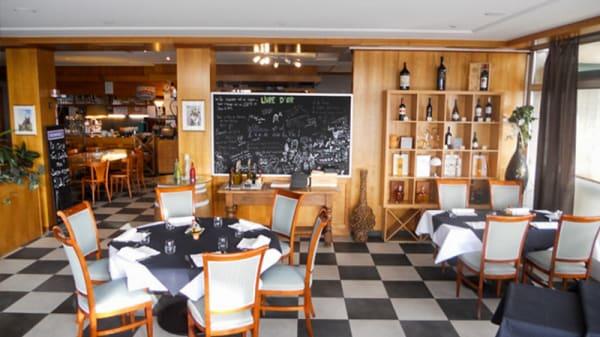 Vue de la salle - La Cena, Marly