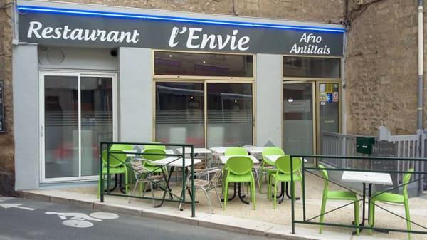 Entrée - L'Envie, Valence