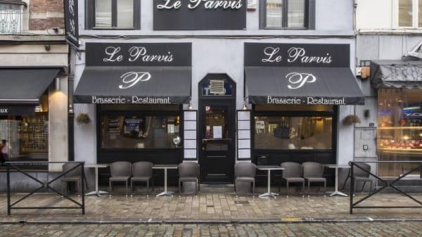 façade - Le Parvis, Uccle