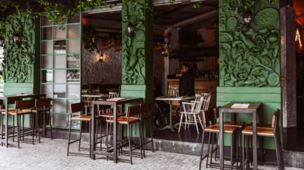 Terraza - Cantina la Llorona, Mexico City