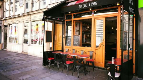 Terrasse - Coq à l'Ane, Paris