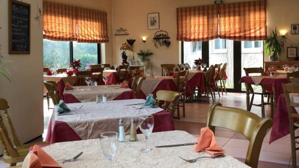 Salle du restaurant - S'Hechtestuebele, Erstein
