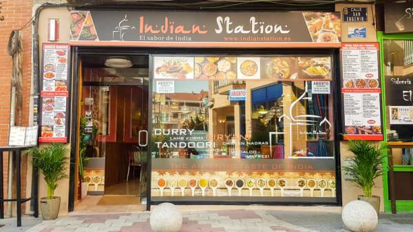 Entrada - Indian Station, Getafe